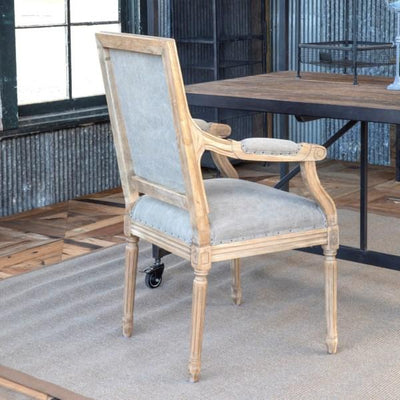 Oak Valley Arm Chair Set of 2-Furniture-Park Hill Collection-A Cottage in the City