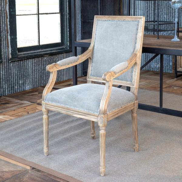 Oak Valley Arm Chair Set of 2-Furniture-A Cottage in the City