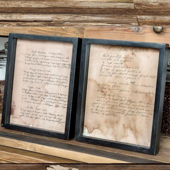 Old Family Recipe Prints-Decor-A Cottage in the City