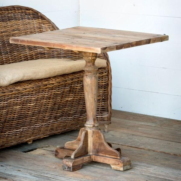 Old Pine Bistro Table-Furniture-Park Hill Collection-A Cottage in the City