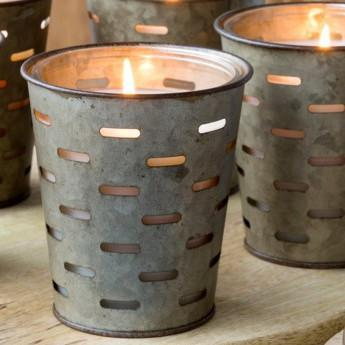 Olive Bucket Southern Scent Candles