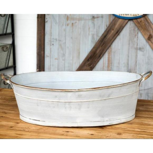Oversized Oval Farm Tub