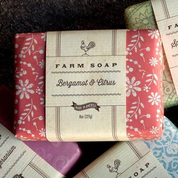 Park Hill Farm Soap-Gifts-Bergamot & Citrus-A Cottage in the City