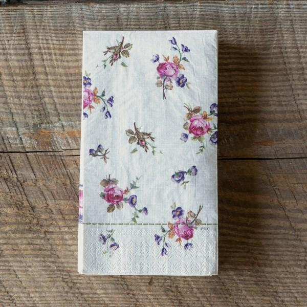 Petite Flower Paper Napkins S/20-Tabletop-A Cottage in the City
