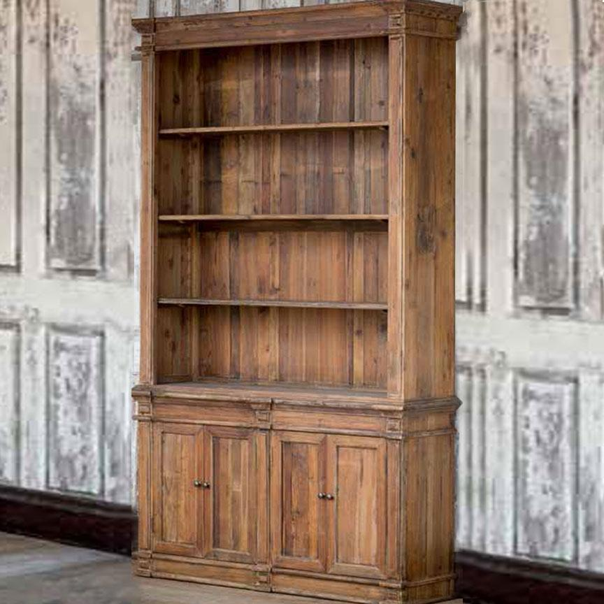 Pine Library Bookcase-Furniture-A Cottage in the City