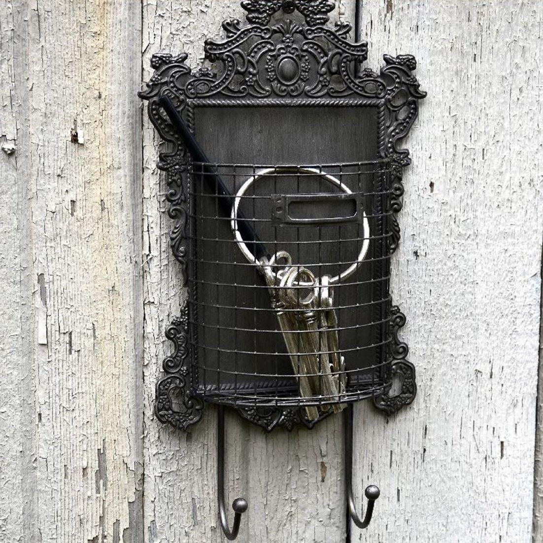 Pressed Tin Basket Hook-Decor-A Cottage in the City