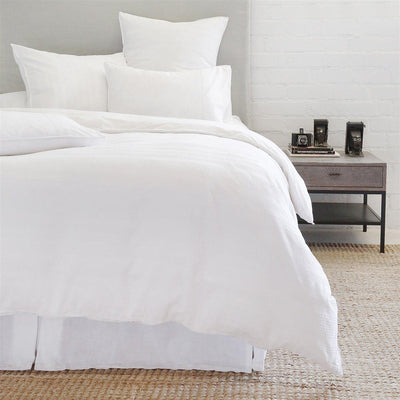 Quinn Duvet by Pom Pom at Home-Bed & Bath-Queen-White-A Cottage in the City