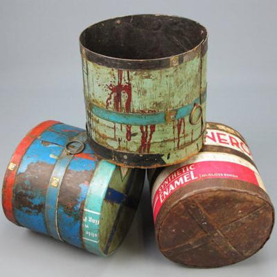 Reclaimed Iron Bucket
