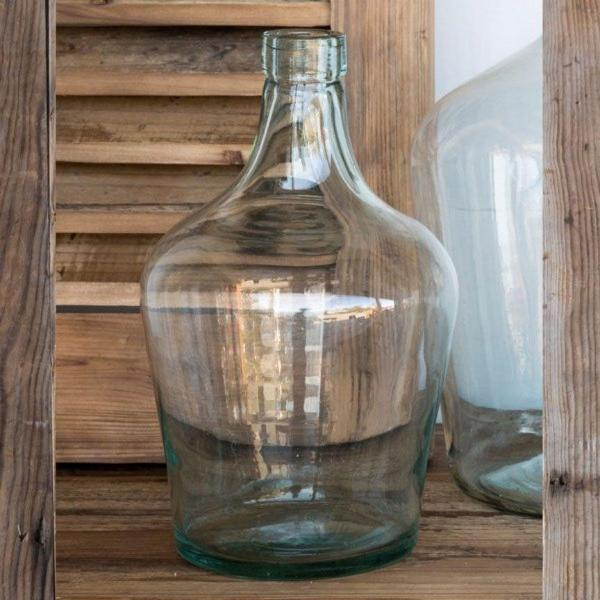 Recycled Glass Cellar Bottle-Decor-Park Hill Collection-Small-A Cottage in the City