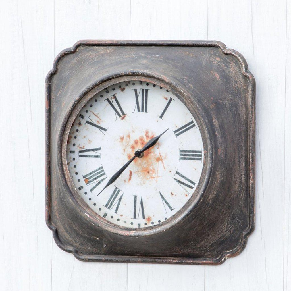 Rusty Bronze Wall Clock-Decor-A Cottage in the City