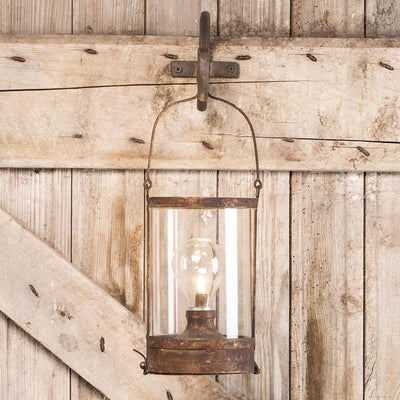 Rusty Lantern Light