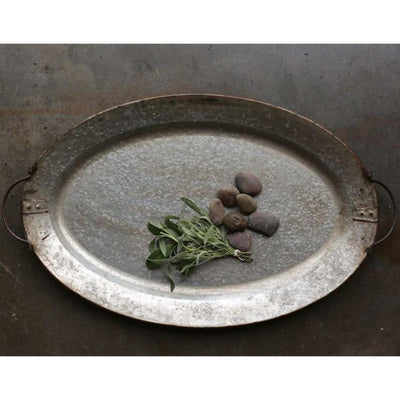Rusty Metal Serving Tray