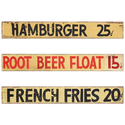 Snack Stand Wood Sign