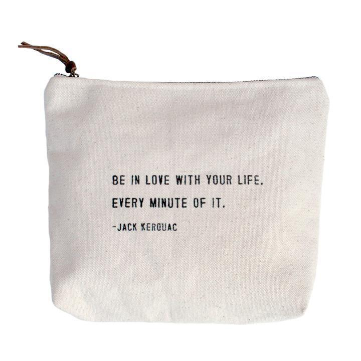 Sugarboo Designs Canvas Bag Be In Love With Your Life