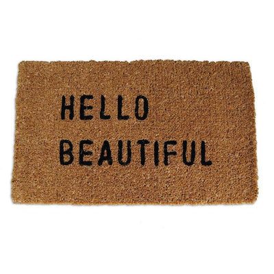 Sugarboo Designs Hello Beautiful Door Mat