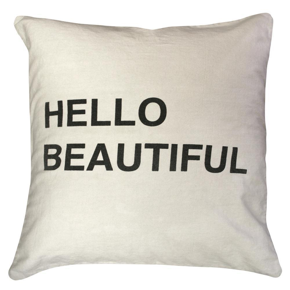 Sugarboo Designs Hello Beautiful Pillow-Decor-A Cottage in the City