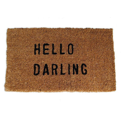 Sugarboo Designs Hello Darling Door Mat