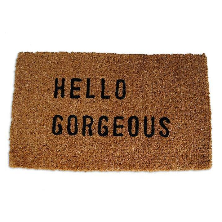 Sugarboo Designs Hello Gorgeous Door Mat