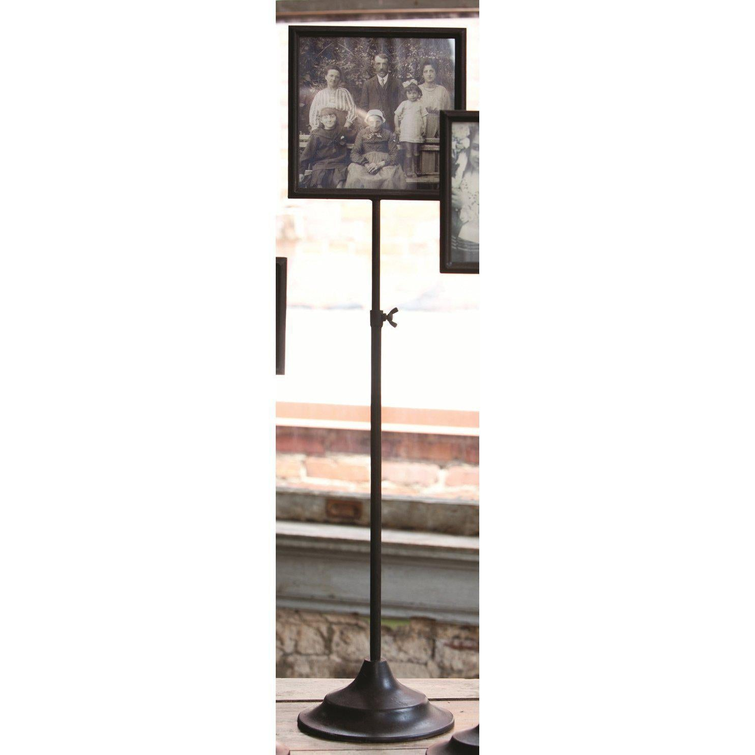 Telescoping Metal Photo Frame Stand-Decor-A Cottage in the City
