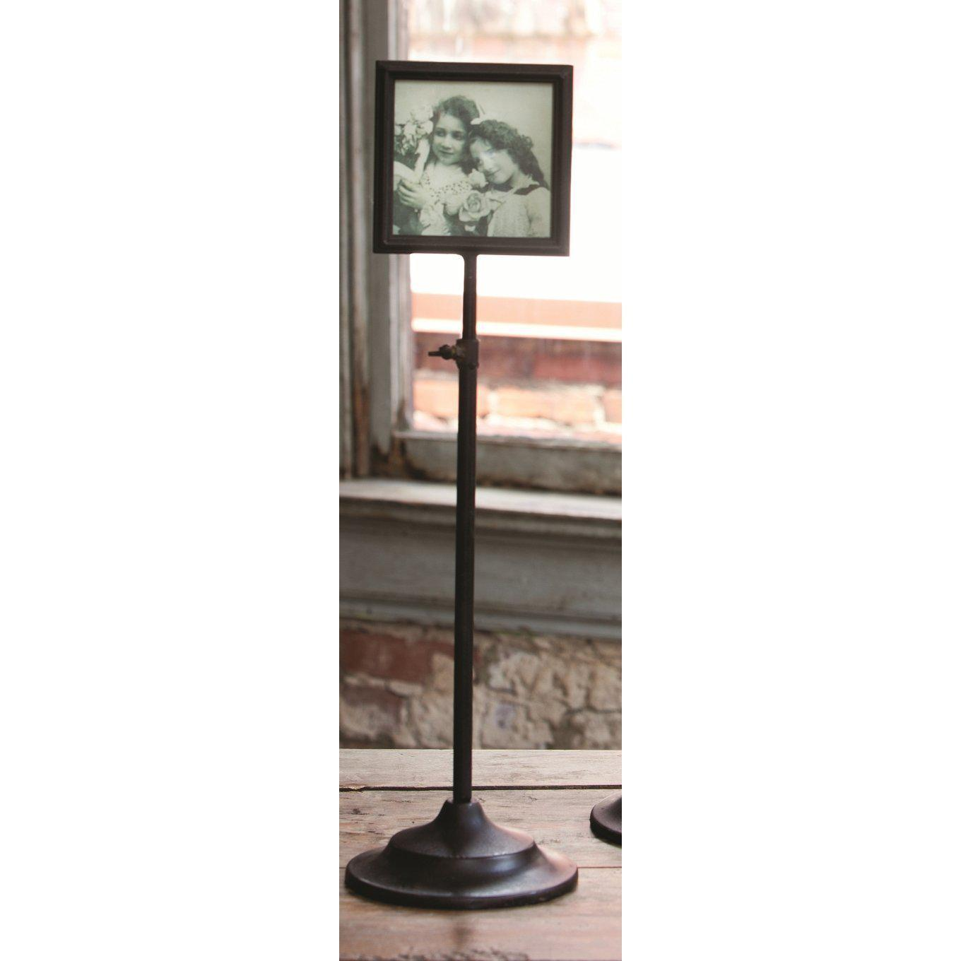 Telescoping Metal Photo Frame Stand