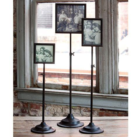 Telescoping Metal Photo Frame Stand-Decor-Small-A Cottage in the City