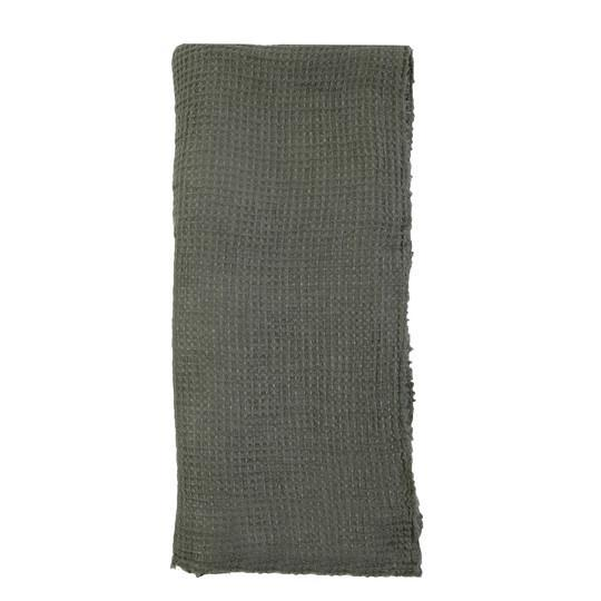 Venice Oversized Throw by Pom Pom at Home-Bed & Bath-Pom Pom-Moss-A Cottage in the City