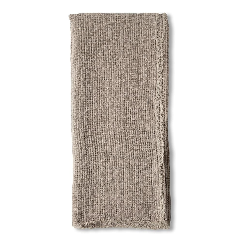 Venice Oversized Throw by Pom Pom at Home-Bed & Bath-Pom Pom-Taupe-A Cottage in the City