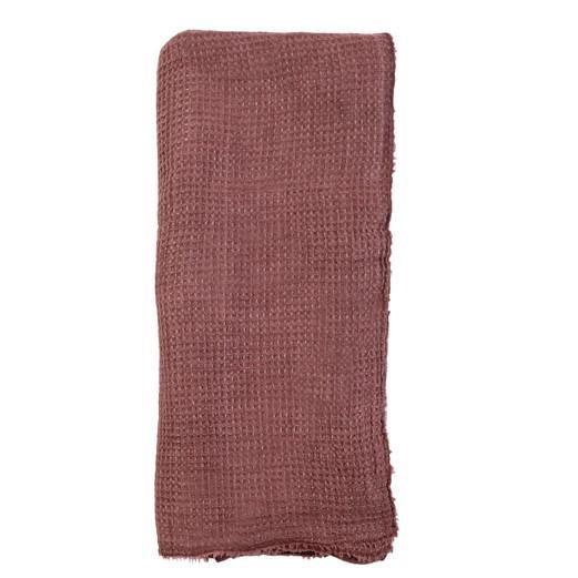Venice Oversized Throw by Pom Pom at Home-Bed & Bath-Pom Pom-Berry-A Cottage in the City