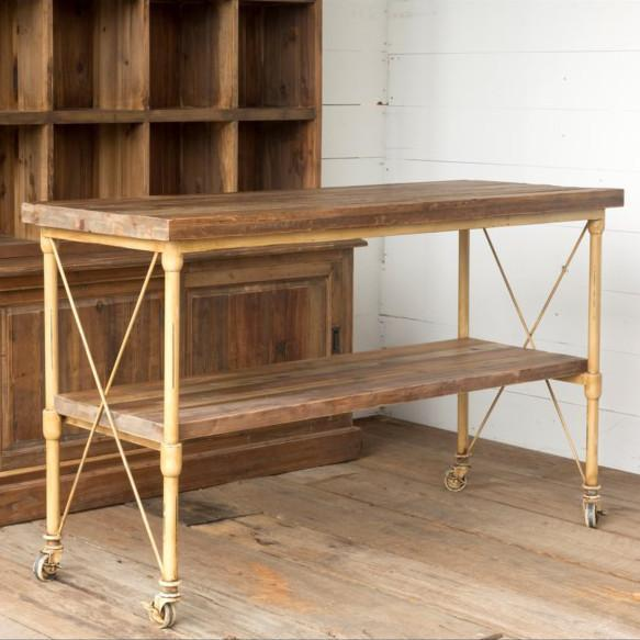 Vintage Style Kitchen Island-Furniture-A Cottage in the City