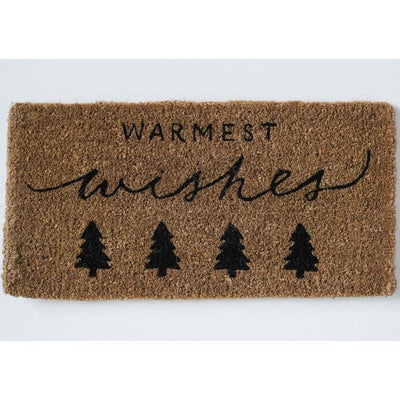 Warmest Wishes Door Mat