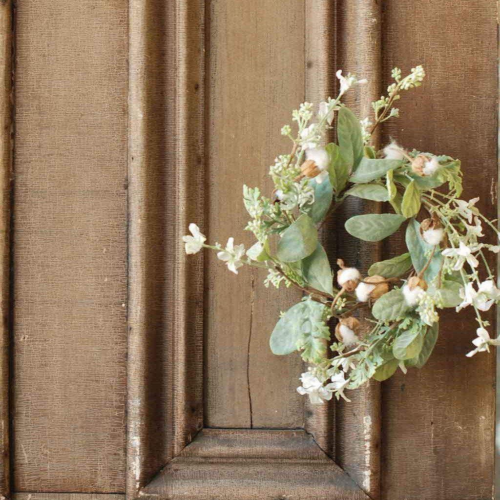 Whisper Light Candle Ring-Seasonal-Vintage Floral Imports-A Cottage in the City