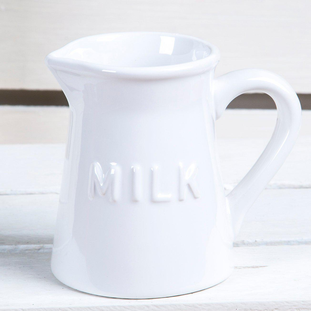 White Milk Creamer
