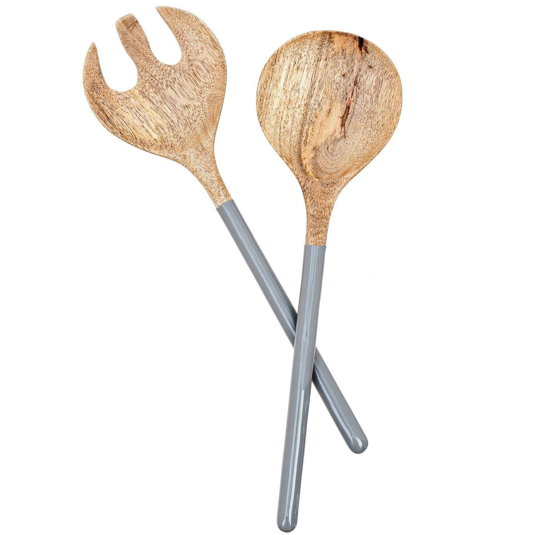 Wood & Enamel Two Piece Serving Set-Tabletop-Indaba-A Cottage in the City