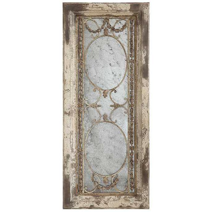 Wood & Metal Antiqued Mirror-Decor-A Cottage in the City