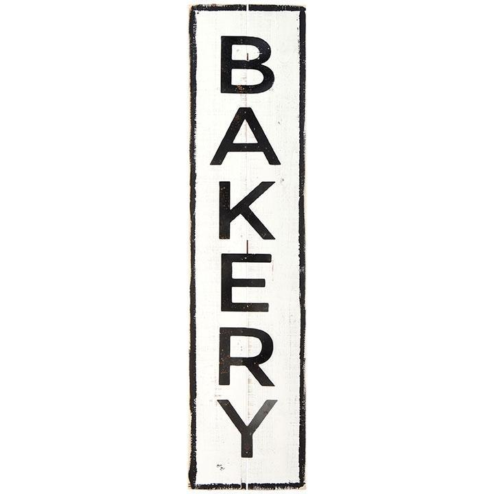 Wood & Metal Bakery Sign