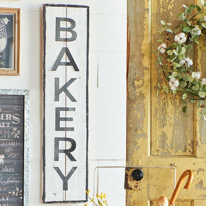 Wood & Metal Bakery Sign-Decor-A Cottage in the City