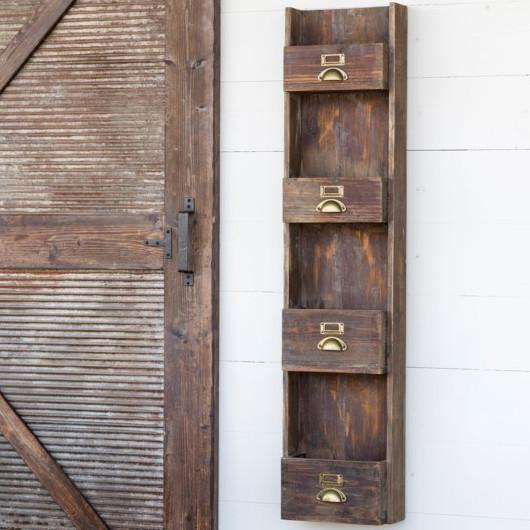 Wooden Magazine Wall Rack-Decor-A Cottage in the City