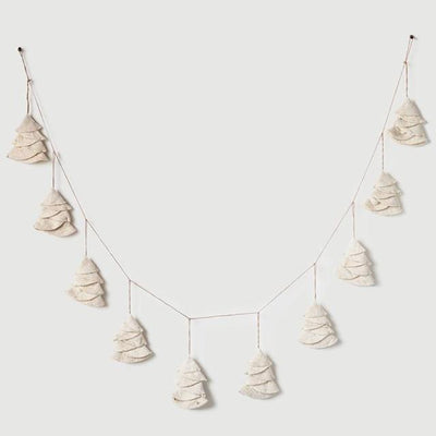 Wool Felt Tree Garland