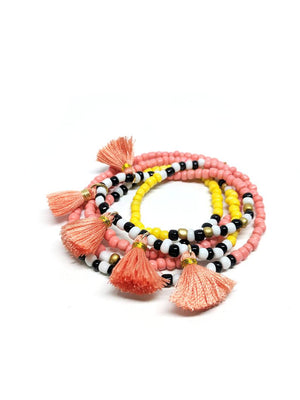 Beaded Wrap Bracelet/Necklace