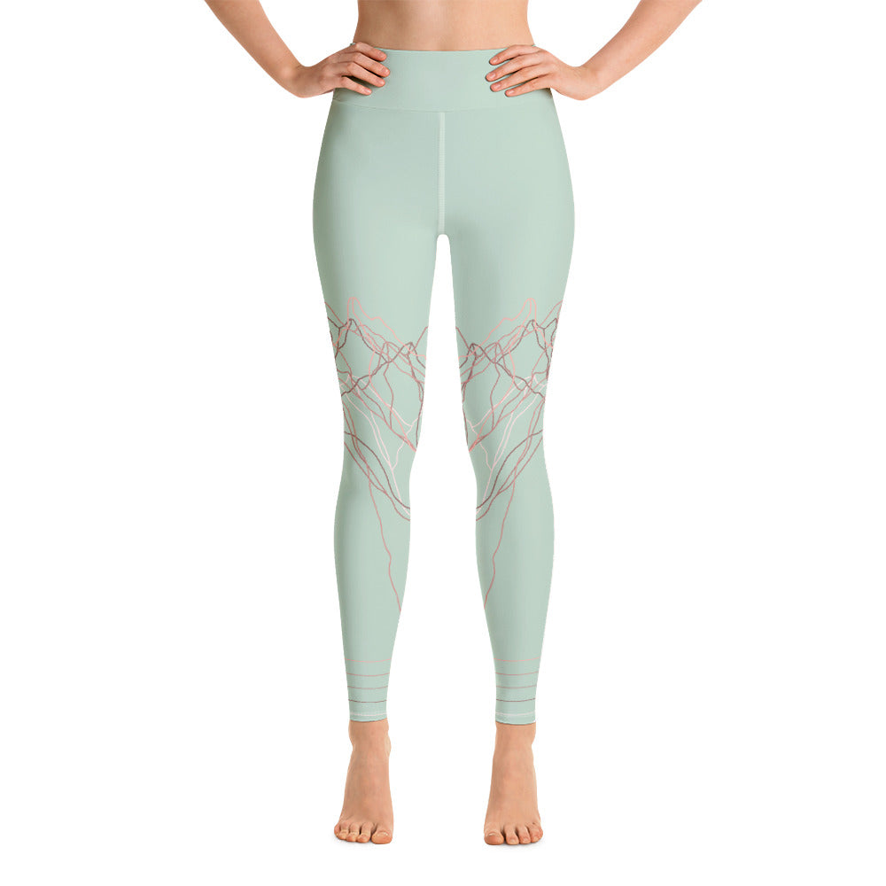 Pink Peak Yoga Leggings