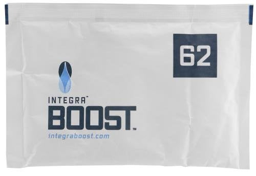 Integra Boost 67g Humidiccant Bulk 62% (100/Pack) - 2-Way Humidity Control Packs