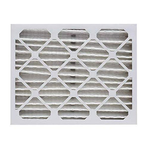 "Aerostar 20x25x4 MERV 13 Pleated Air Filter, Made in the USA 19 1/2"" x 24 1/2"" x 3 3/4"", 6-Pack"