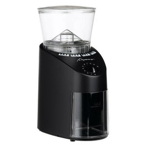 Capresso 596 coffee grinder, 15.8 x 12.2 x 8.7 inches, Black