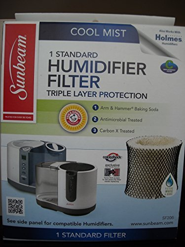 Sunbeam SBM, Letter Code C Humidifier Filter, 4 Piece