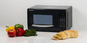 Emerson 0.7 CU. FT. 700 Watt, Touch Control, Black Microwave Oven, MW7302B