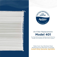 Load image into Gallery viewer, Aprilaire 401 Replacement Filter for Aprilaire Whole House Air Purifier Model: 2400, Space Gard 2400, MERV 10 (Pack of 4)