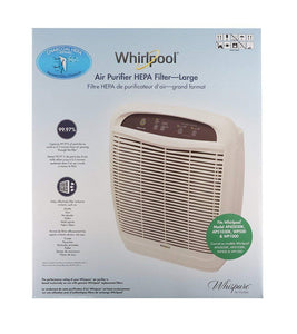 Whirlpool 1183054KC, 2-in-1 Filter, Genuine True HEPA-Charcoal Combined (Large) - Replacement Filter Fit For Model: AP51030K, AP45030K, APR45130L, WP500, WP1000