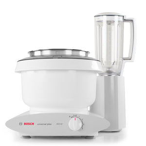 Bosch Blender Attachment for Bosch Universal Plus Mixer | Ideal Mixer Accessory for Blending Bread, Fruit, Ice | TRITAN Co-polyester with Stainless Steel Blades | 6 Cup Capacity