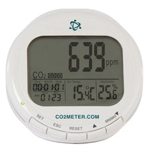 Load image into Gallery viewer, CO2Meter AZ-0004 Indoor Air Quality CO2 Meter, Temperature and Relative Humidity, White