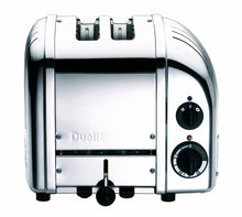 Load image into Gallery viewer, Dualit 2-Slice Toaster, Chrome